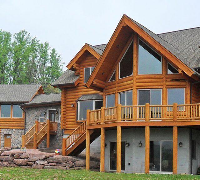 gingrich log cabin
