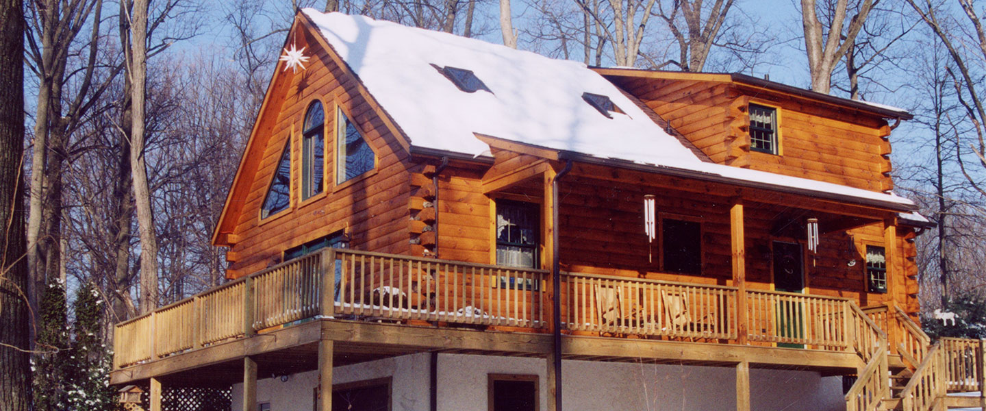 royer log home