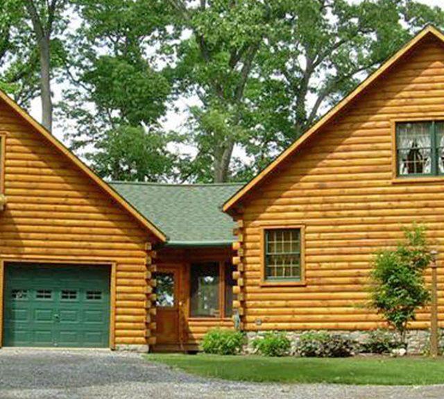 lob cabin year round home