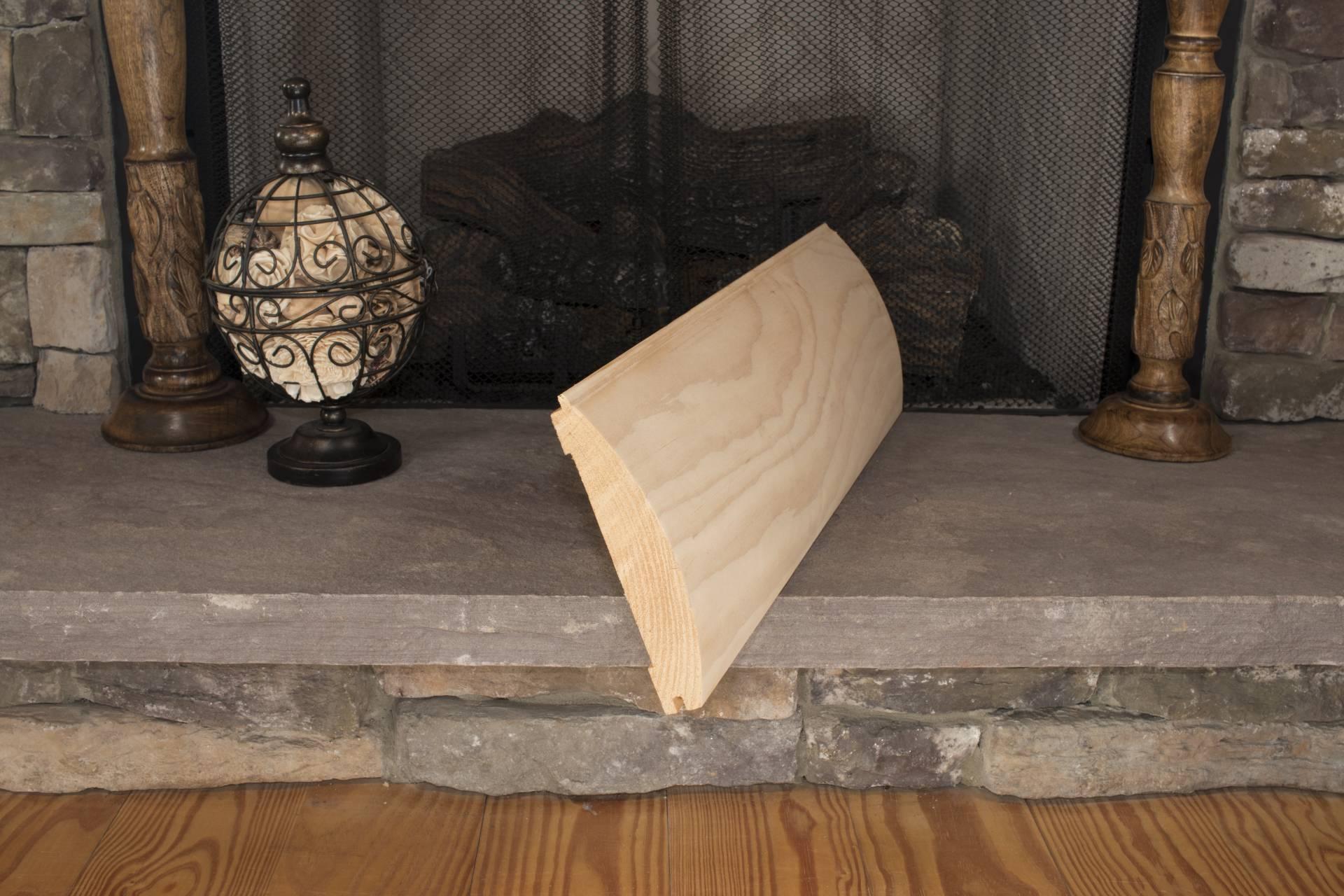 8 Inch Log Siding Sashco Log Home Products