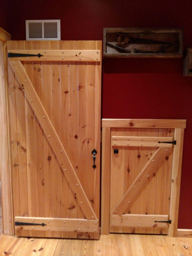 Swinging Hinged Barn Doors Sashco Log Home Products