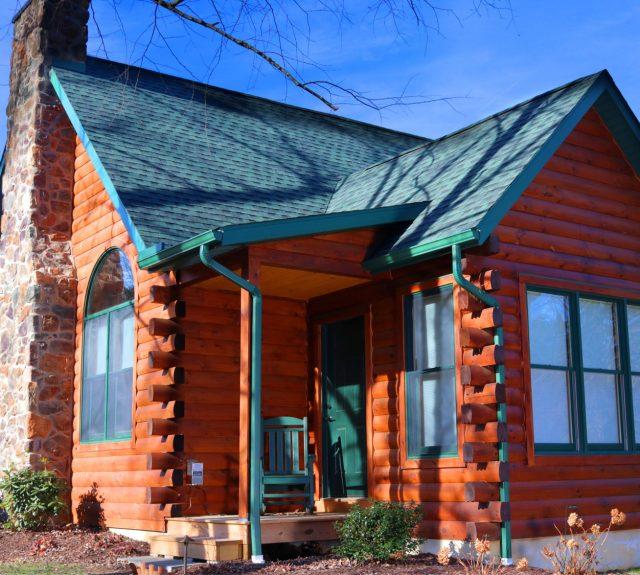log cabin styles