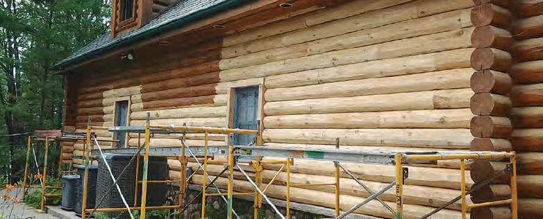 log home repair products