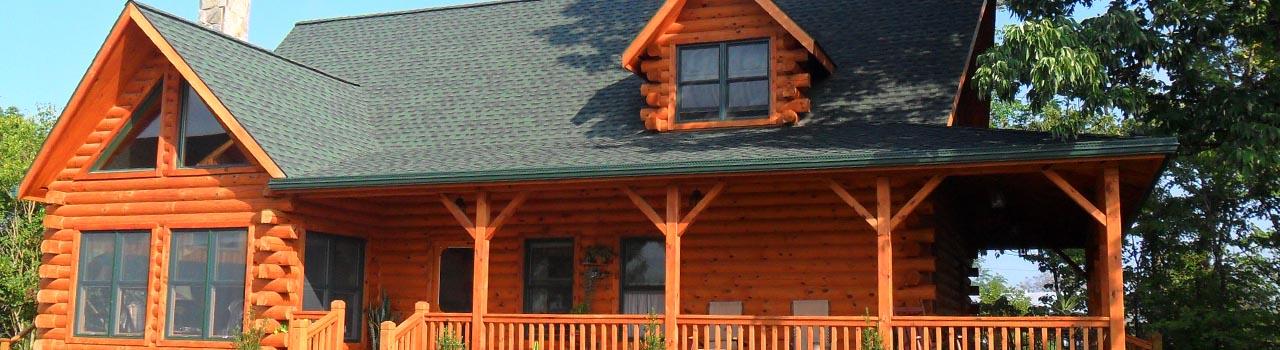 Custom log cabin homes in Elizabethtown PA