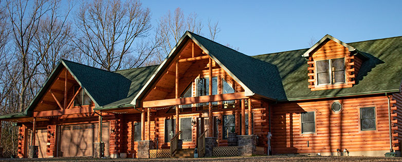 cost to build a deluxe log home